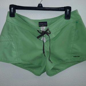 Patagonia board shorts, size 6